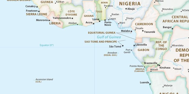 Port Harcourt Pe Hartă